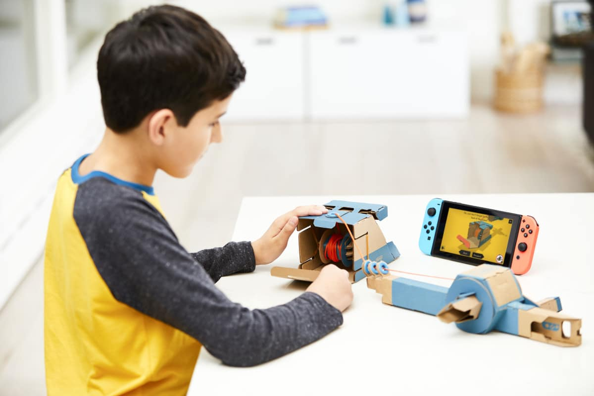 Nintendo; More games will become Labo compatible