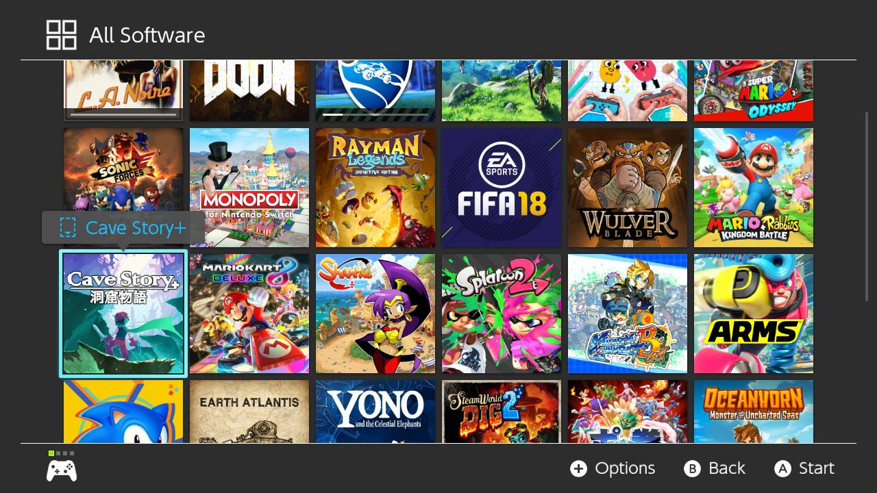 Nintendo Switch – 2017 – 50 Games