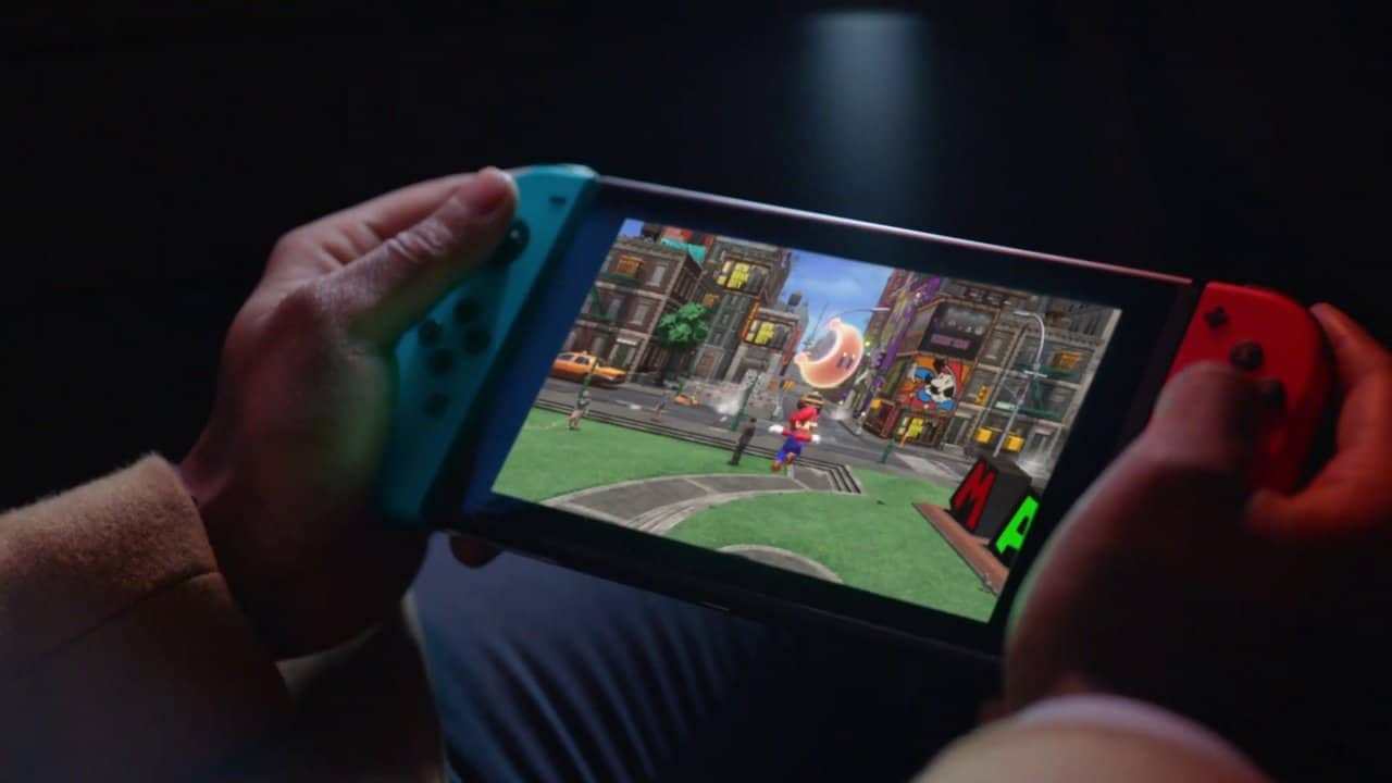 Nintendo Switch My Way reclames – verschillende games