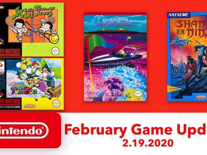 News - Nintendo Switch Online – Four New NES and SNES Games