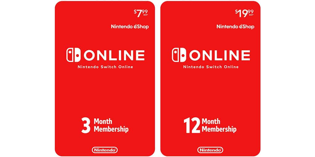 Nintendo Switch Online Prepaid Cards verkopen goed in Japan