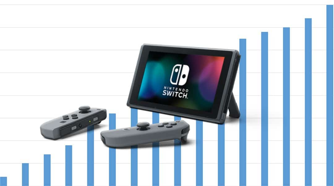 Nintendo Switch outsells Base PlayStation 4