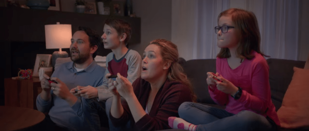 Nintendo Switch – Play Together commercial