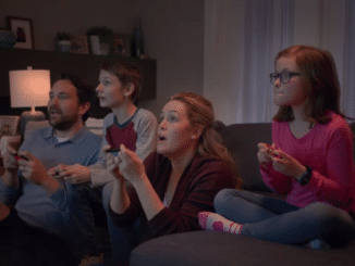 Nintendo Switch – Play Together reclame