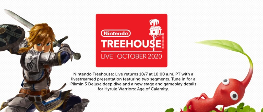 Nintendo Treehouse Live Will Give Details on Hyrule Warriors: Age of Calamity and Pikmin 3 During Livestream