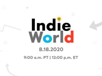 Nintendo's volgende Indie World Showcase – Morgen 18 Augustus, 2020