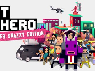Release - NOT A HERO: SUPER SNAZZY EDITION