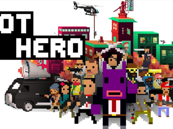 Nieuws - Not a Hero: Super Snazzy Edition launch trailer
