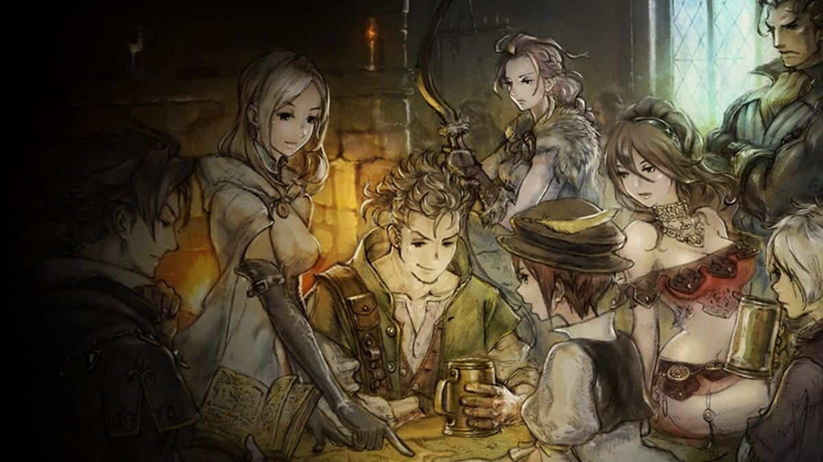 Octopath Traveler – Forge your futurereclame
