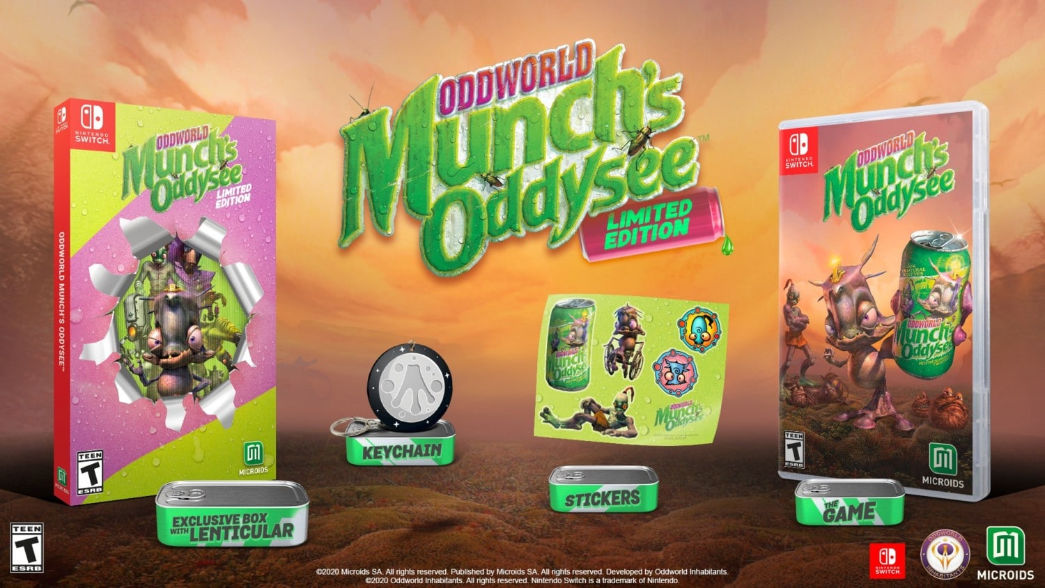 Oddworld: Munch's Oddysee Limited Edition is arriving August 25