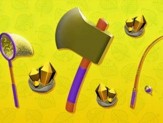 Animal Crossing: New Horizons – Unlock All Golden Tools