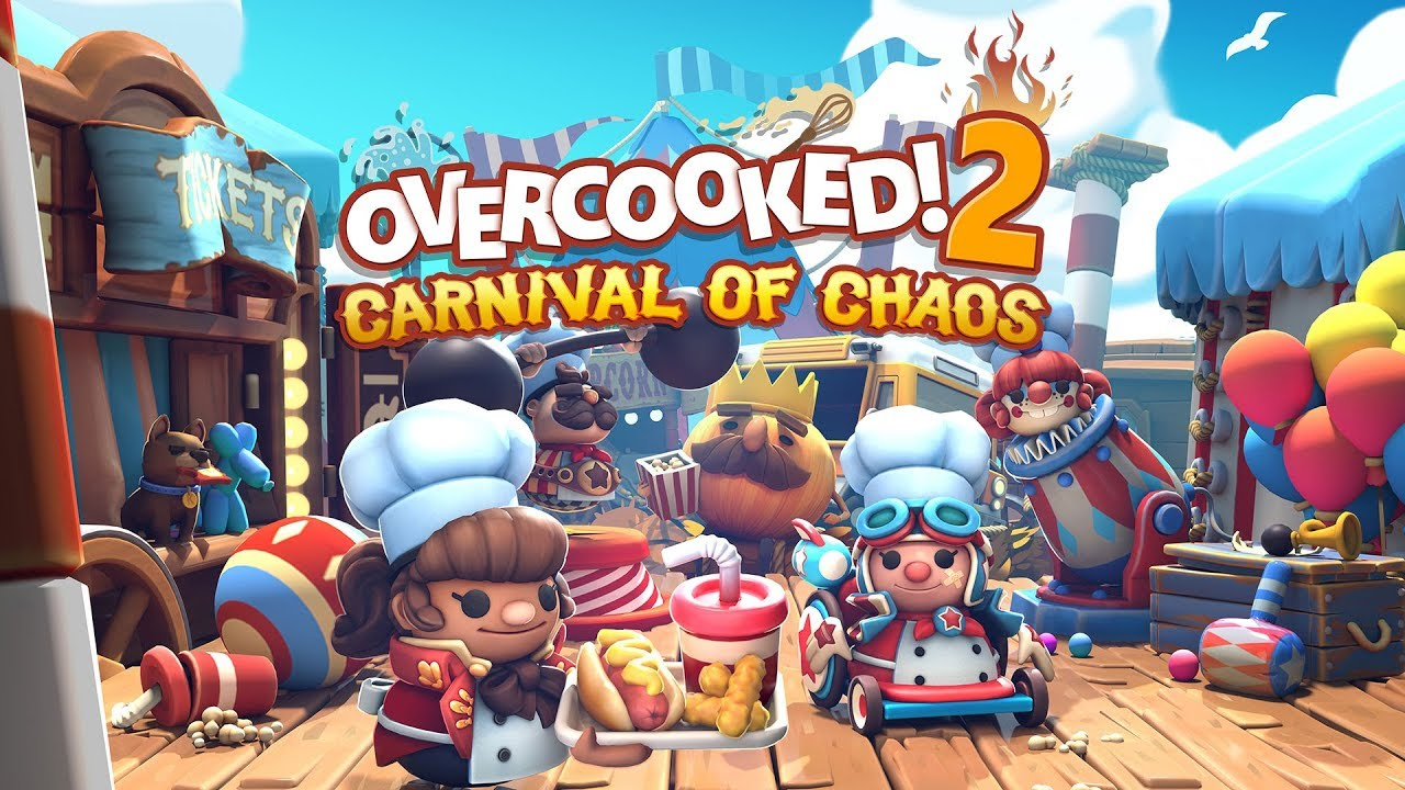 Overcooked! 2 Carnival Of Chaos DLC announced