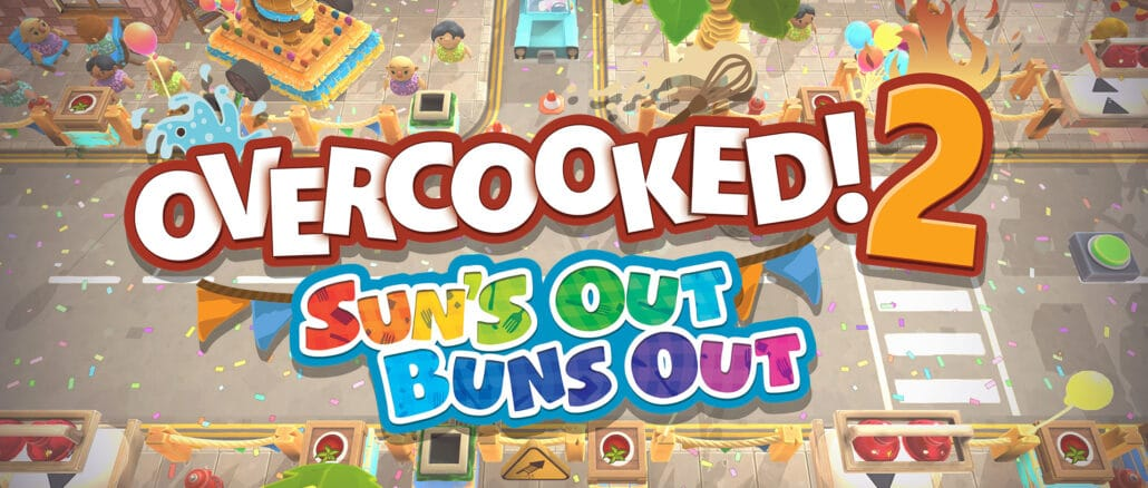Overcooked! 2 – Sun's Out Buns Out DLC Pack aangekondigd