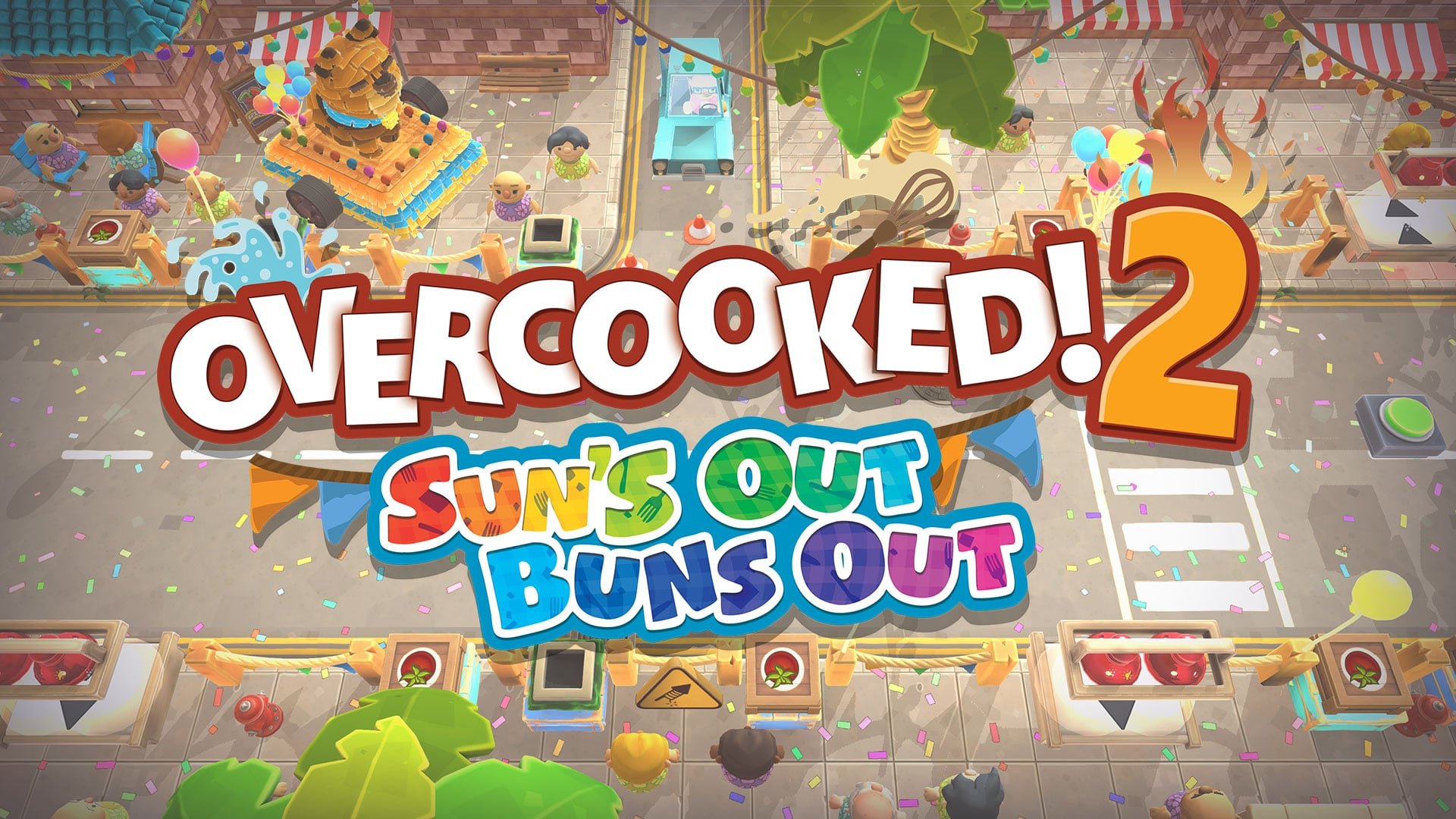 Overcooked! 2 – Sun's Out Buns Out DLC Pack announced