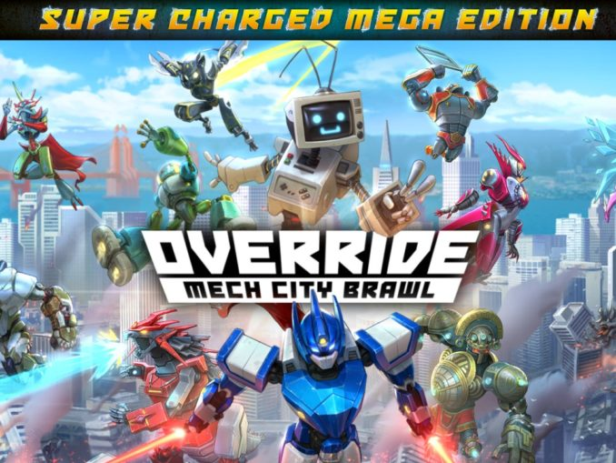 Release - Override: Mech City Brawl – Super Charged Mega Edition
