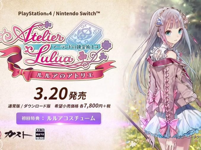 News - Overview returning characters Totori, Mimi for Atelier Lulua