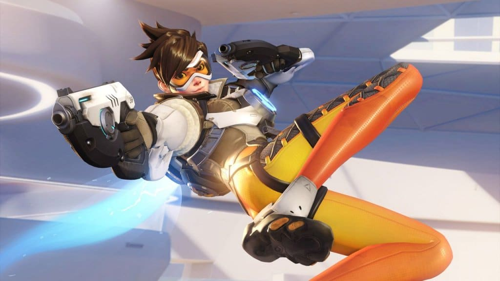 Overwatch docked en undocked footage