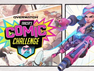 Overwatch – Tracer's Comic Challenge Live tot 28 September