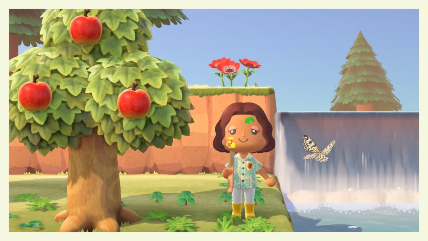 Verf je gezicht in Animal Crossing: New Horizons
