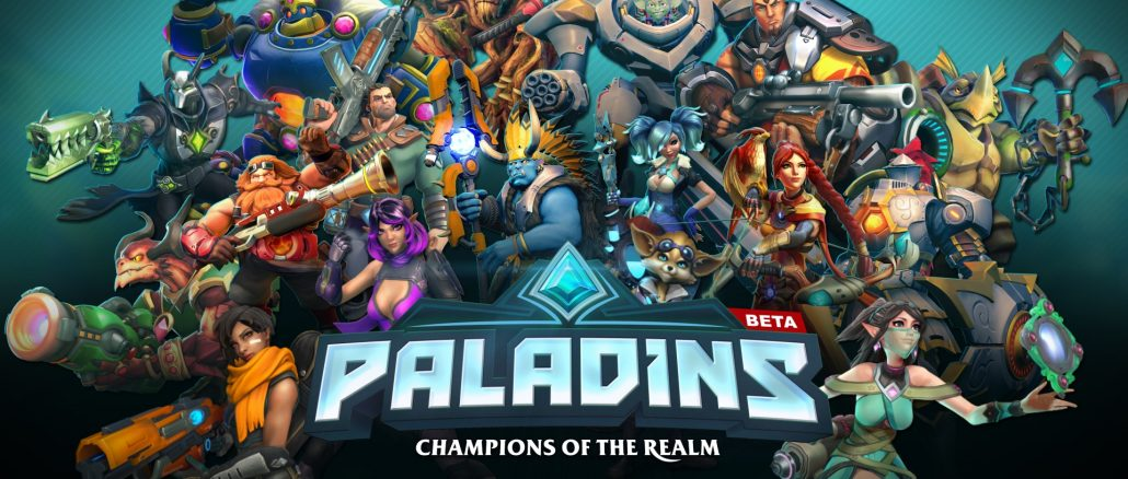 Paladins now available for FREE