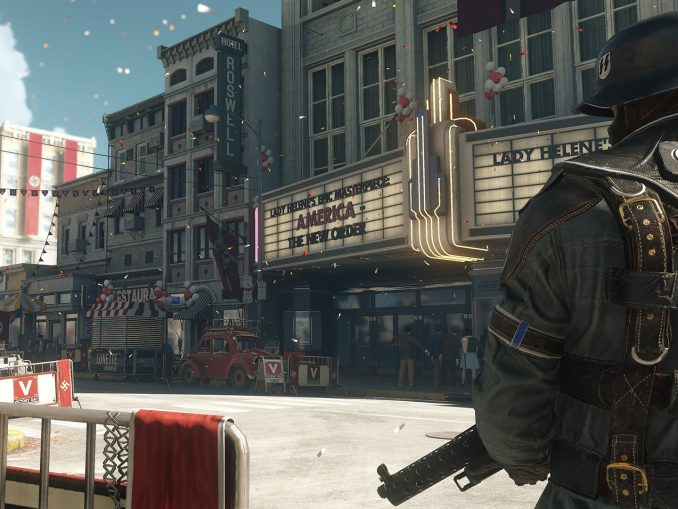 News - Panic Button Wolfenstein 2: The New Colossus