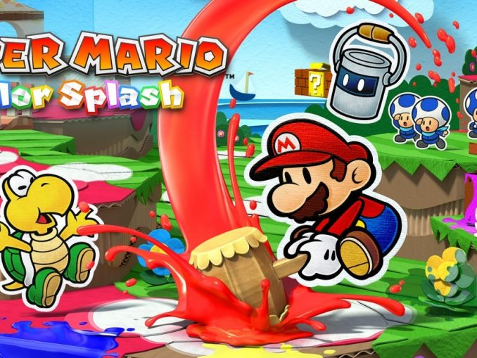 Release - Paper Mario: Color Splash