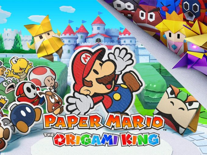Nieuws - Paper Mario: The Origami King – Ontwikkeling afgerond