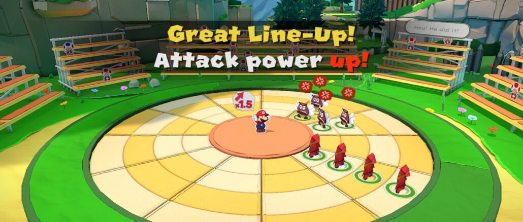 Paper Mario: The Origami King - Japanese Website, Battle System Trailer, Story Details and More