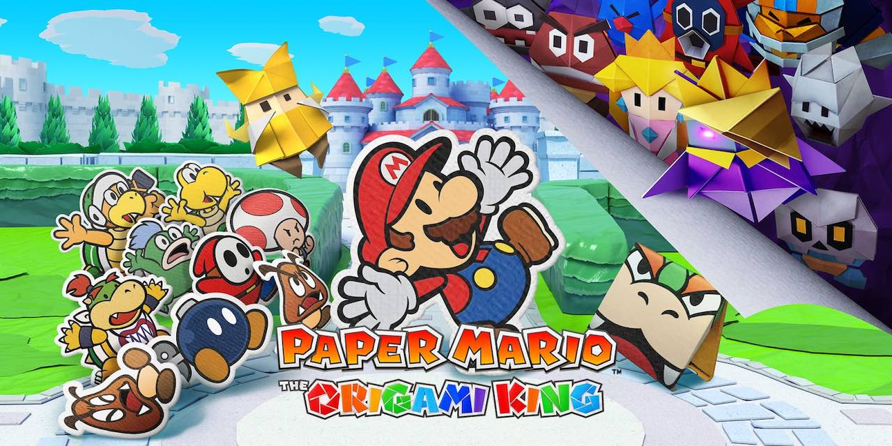 Paper Mario: The Origami King – Launches July 17th