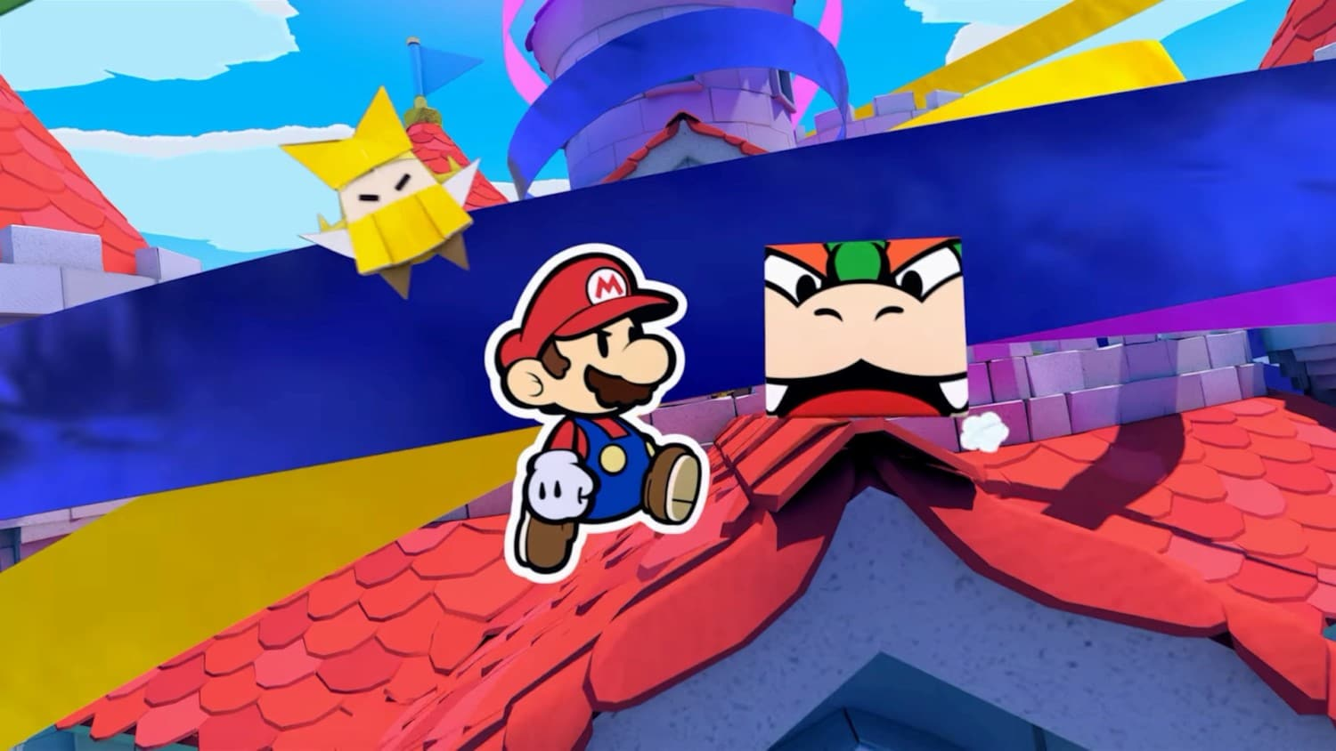 Paper Mario: The Origami King – New Story Details, Combat and Gameplay Features