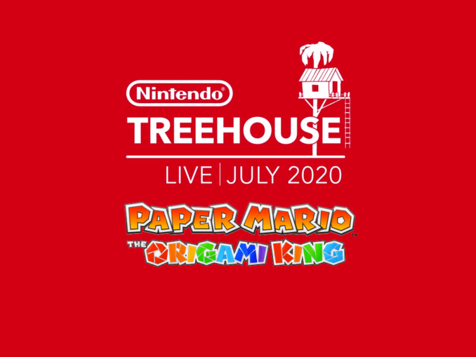 Nieuws - Paper Mario: The Origami King – Nintendo Treehouse Live Gameplay