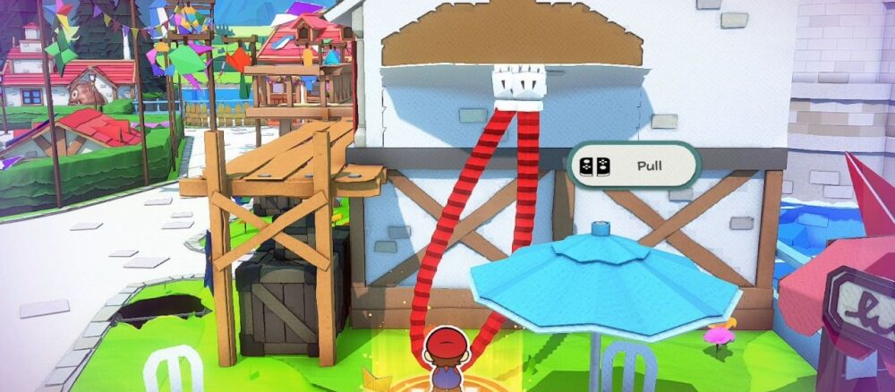 Paper Mario: The Origami King – Geen leveling of EXP