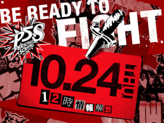 Persona 5 Scramble: The Phantom Strikers info op 24 Oktober