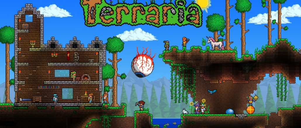 Pipeworks – Terraria Alpha Build verstuurd