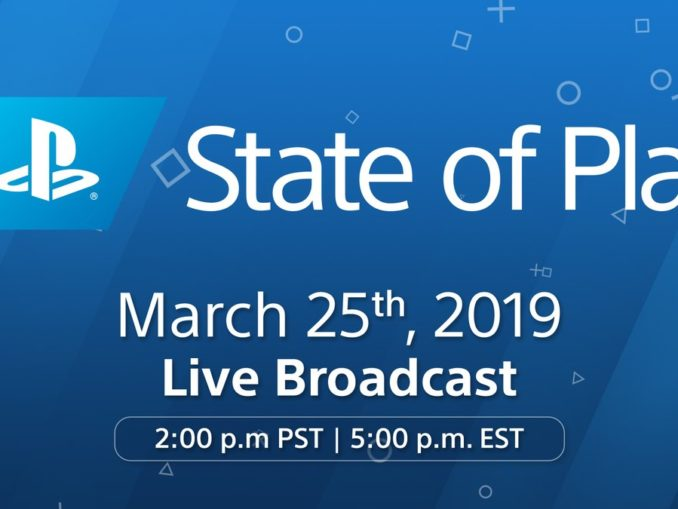 Playstation – State of Play – een Nintendo Direct achtige presentatie