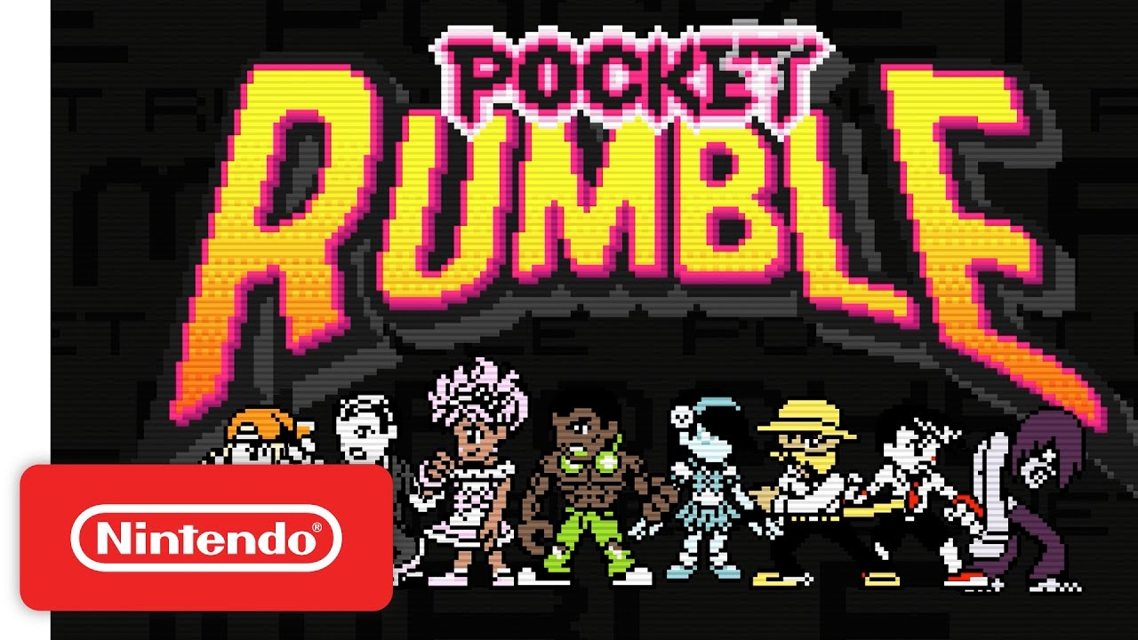 Pocket Rumble komt 5 juli
