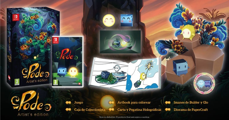 Pode – Artist's Edition – is coming in 2020