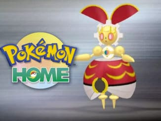 Pokeball Color Magearna voor het voltooien van National Dex in Pokemon HOME