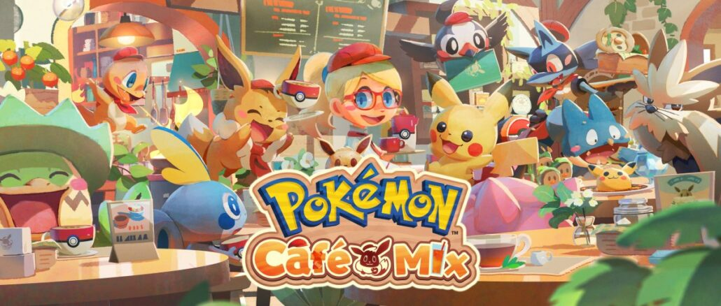 Pokemon Cafe Mix – 5 miljoen+ downloads