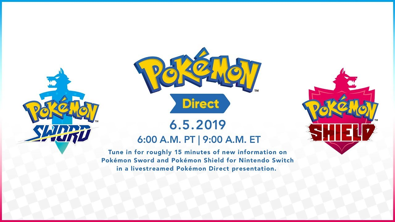 Pokemon Direct announced for June 5th