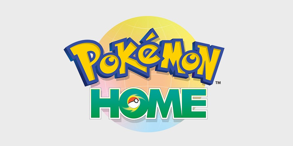 Pokémon HOME – Cloud Service coming early2020