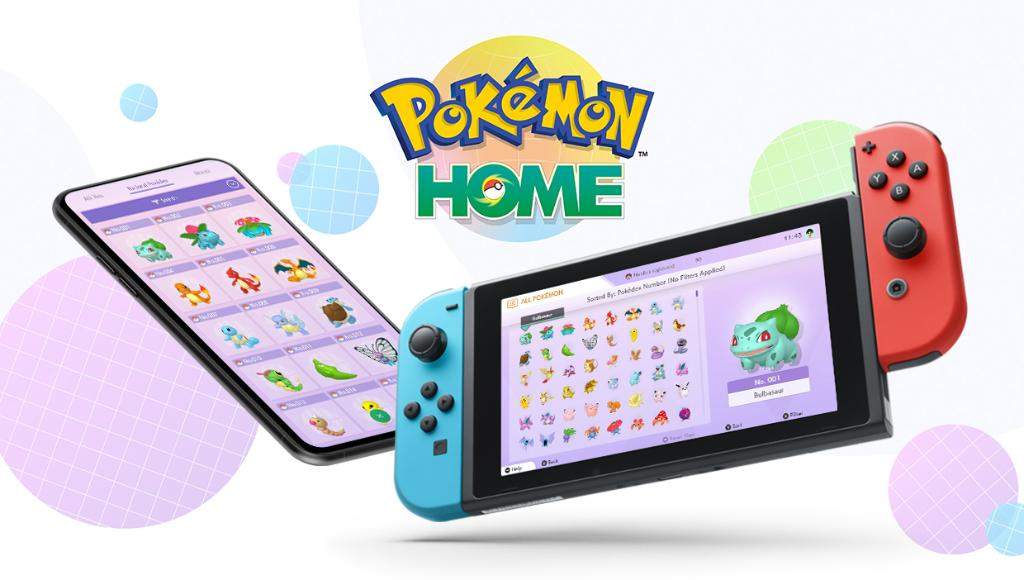 Pokemon HOME Live op Nintendo Switch en Mobiel