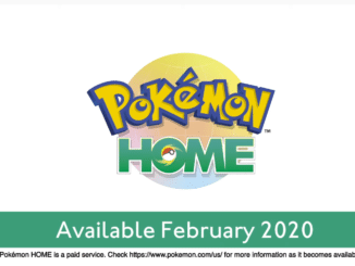 Pokemon Home – Paid Service confirmed