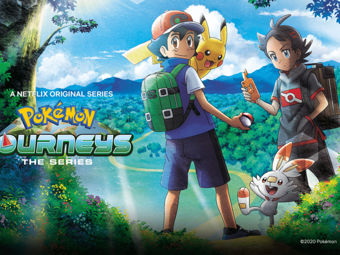 Nieuws - Pokémon Journeys: The Series – 12 extra afleveringen komen naar Netflix in september 2020