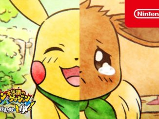 Pokemon Mystery Dungeon DX – Lachende en huilende TV reclames