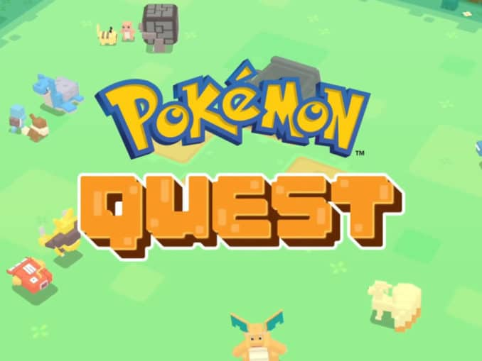 Nieuws - Pokemon Quest – 30 minuten footage