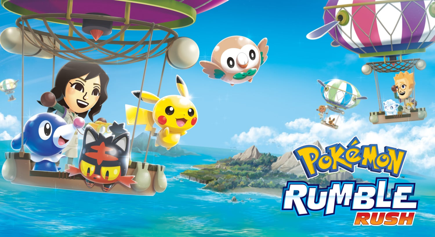 Pokemon Rumble Rush revealed for smartphones – Now available
