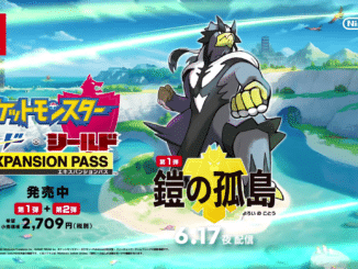 Pokemon Sword and Shield Isle Of Armor Expansion reclame – Japan