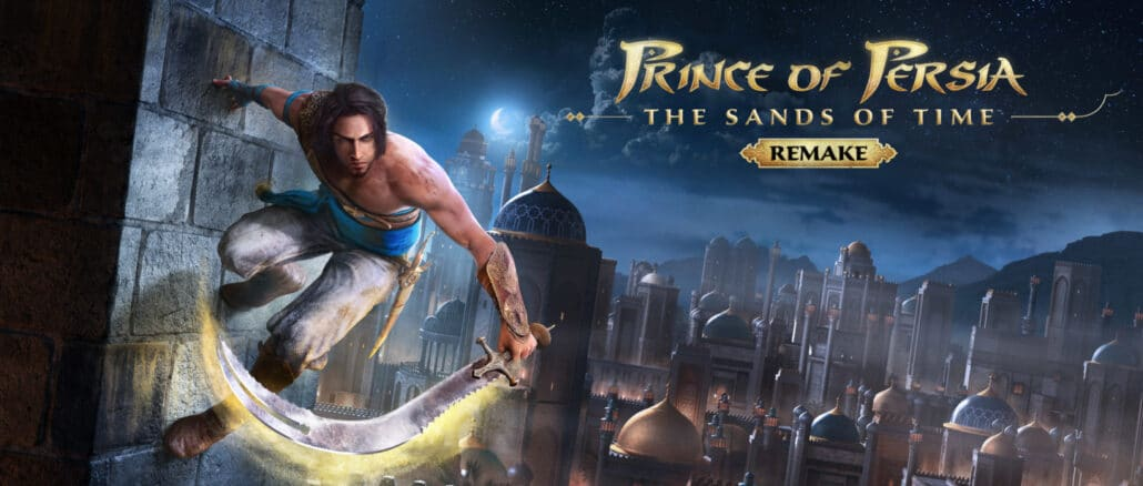 Prince of Persia: The Sands Of Time Remake … Switch alleen vermeld op website