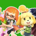 Princess Peach, Lucina, Inkling Girl & Isabelle on Xbox One Dashboards